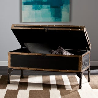 Carbon Loft Blodgett Travel Trunk Cocktail/ Coffee Table