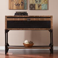 Carbon Loft Blodgett Travel Trunk Console/ Sofa Table