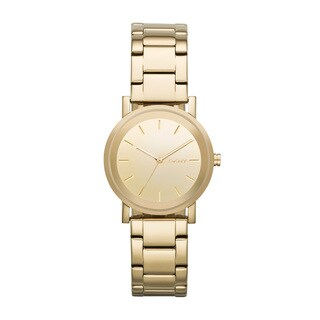 DKNY Women's NY2178 Soho Round Gold Watch