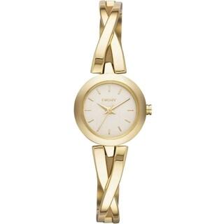 DKNY Women's NY2170 Crosswalk Gold Tone Watch