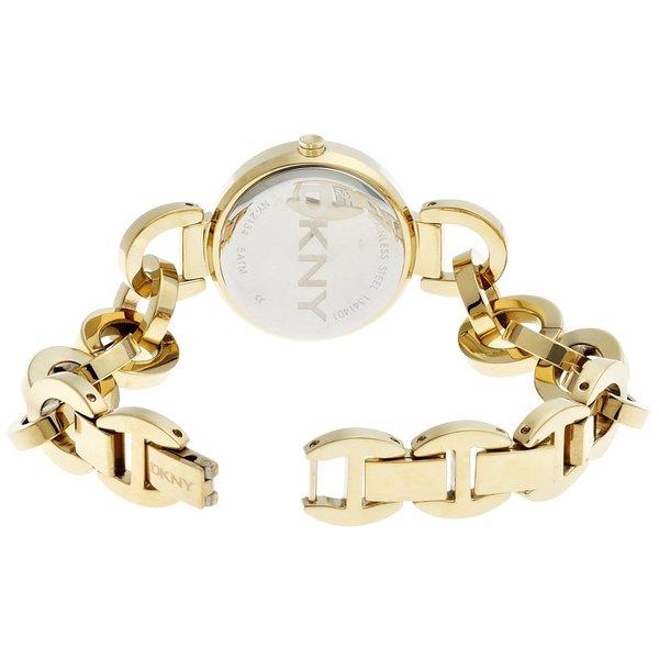 Womens Goldtone Link Snap Bracelet
