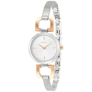 DKNY Women's NY2137 Two-Tone Bangle Watch
