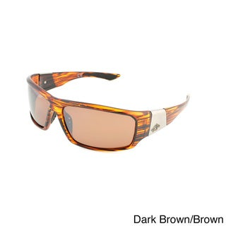 Anarchy 'Gator Pit' Polarized Sport Wrap Sunglasses
