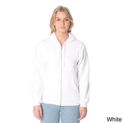 American Apparel Unisex Flex Fleece Zip Hoodie