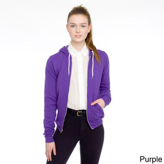 American Apparel Unisex Flex Fleece Zip Hoodie (More options available)