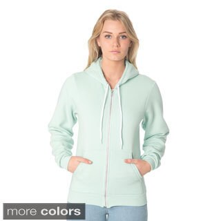 American Apparel Unisex Flex Fleece Zip Hoodie (More options available)