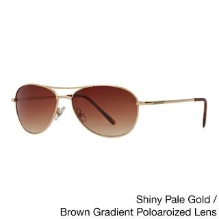 Anarchy 'OTB' Polarized Metal Aviator Sunglasses (2 options available)