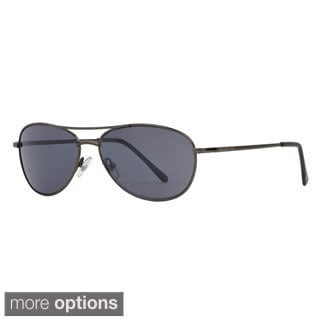 Anarchy 'OTB' Polarized Metal Aviator Sunglasses