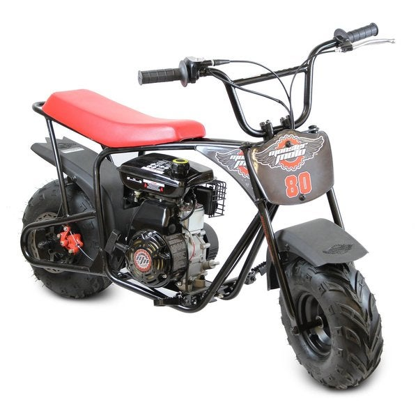 Monster Moto Red Youth Mini Bike Free Shipping Today