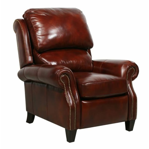 Shop Churchill Ii Leather Recliner Free Shipping Today