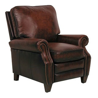 Briarwood II Stetson Coffee Leather Recliner