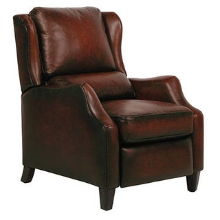 Berkeley II Stetson Bordeaux Leather Recliner