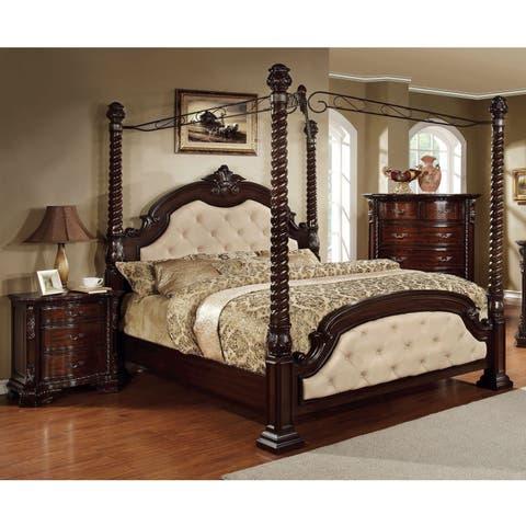 Buy Canopy Bed Bedroom Sets Online at Overstock | Our Best Bedroom ...