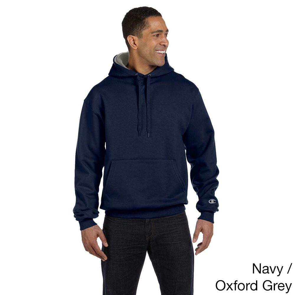 Champion Mens Cotton Max Fleece Crew Sweatshirt
