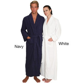 NDK New York Unisex Full-length Terry Cloth Bathrobe