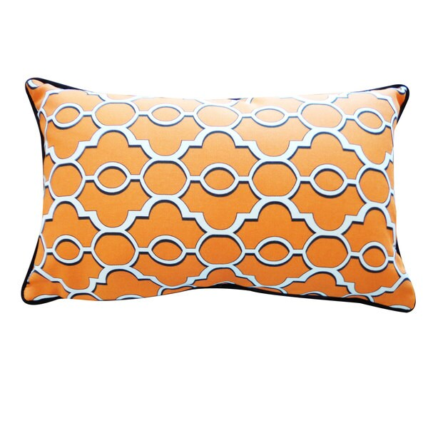 Handmade Viceroy Orange Pillow