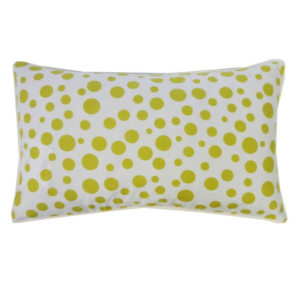 Handmade Big Small Green Kids Pillow