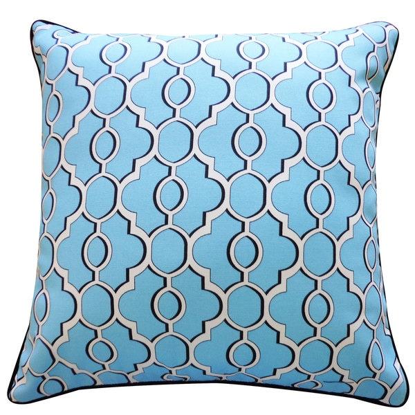 Handmade Viceroy Blue Pillow
