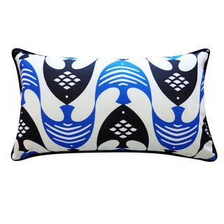 Fly Blue Pillow
