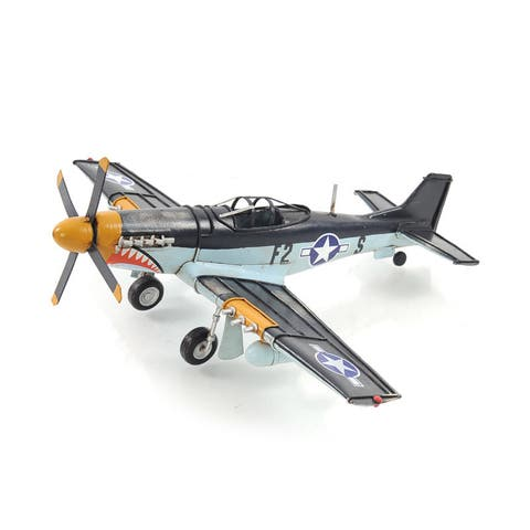1943 Grey Mustang P51 1:40 Model Fighter Plane