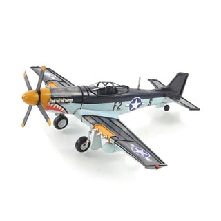 1943 Grey Mustang P51 1:40 Model Fighter Plane