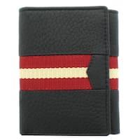 Unico Corp Fashion Men's Leather Tri-fold Wallet
