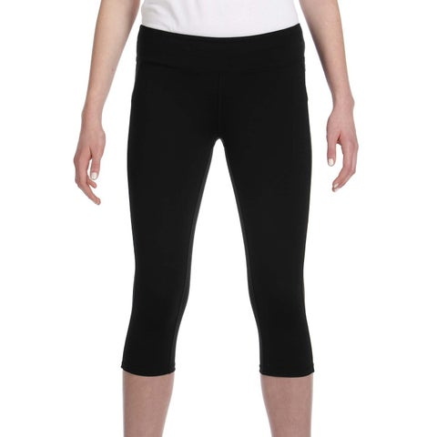 Alo Women's Black Capri Leggings