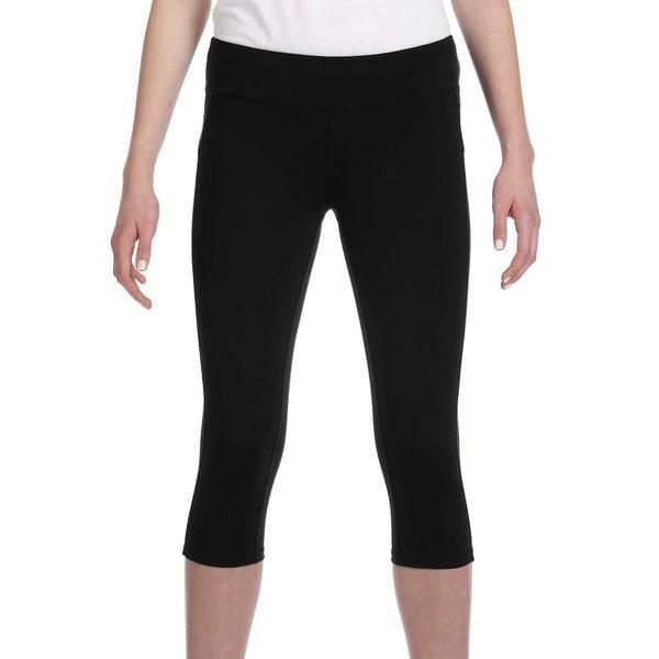 275b5c32b2 Shop Alo Women's Black Capri Leggings - On Sale - Free Shipping On ...