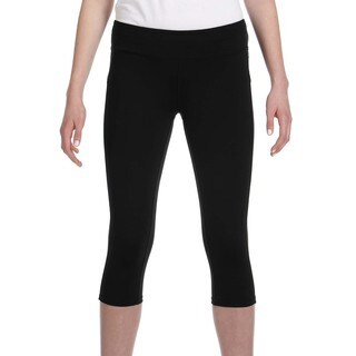 Alo Women's Black Capri Leggings