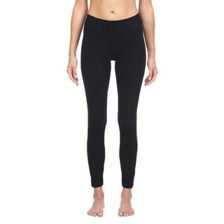 Link to Bella Women's Black Cotton/ Spandex Leggings Similar Items in Athletic Clothing