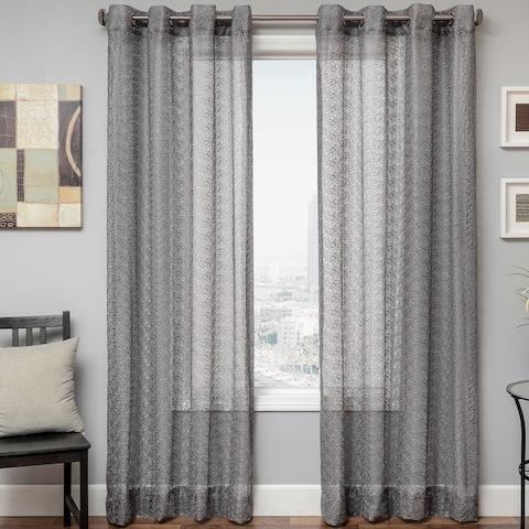 Softline Ariel Sheer Grommet Top Curtain Panel