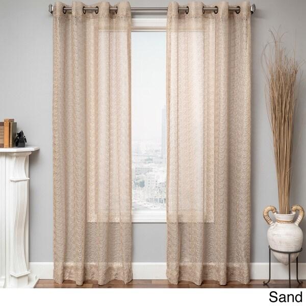 Ariel Sheer Grommet Top Curtain Panel 16347216