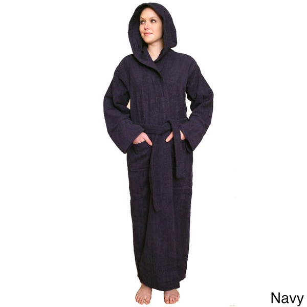 Shop NDK New York Women s Hooded Terry Cloth Bathrobe - Ships To ... 894b5076a