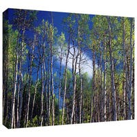 Dean Uhlinger 'Lone Cloud' Gallery-wrapped Canvas