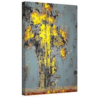 Dean Uhlinger 'Dune Flower' Gallery-wrapped Canvas