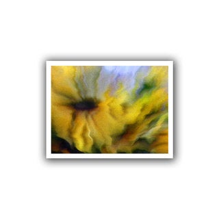 Dean Uhlinger 'Faux Floral 2' Unwrapped Canvas