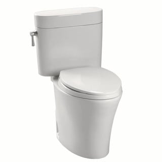 Toto CST794EF-01 Nexus Cotton White Elongated Toilet Bowl and Tank Set
