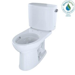 Toto CST454CEFRG-01 Drake II Elongated Cotton Sanagloss Toilet
