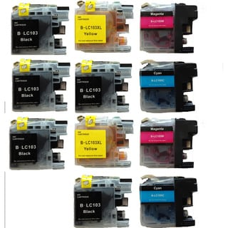 Brother Ink Cartridge for Brother (Pack of 11, 5 Black)
