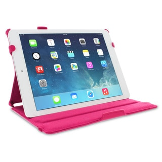 rooCASE Slim Fit Folio Case Smart Cover with Stylus for Apple iPad Air (5th Generation)