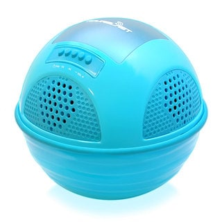 Floating Pool Speaker System with Built-in Rechargeable Battery and Wireless Music Streaming