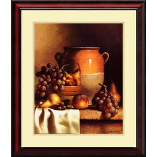 Loran Speck 'Confit Jar with Bowl' Framed Art Print 24 x 28-inch