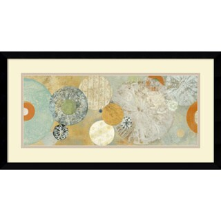 Carmen Dolce 'Beach Spa I' Framed Art Print 25 x 13-inch
