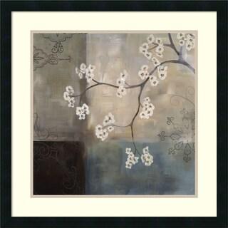 Laurie Maitland 'Spa Blossom I' Framed Art Print 25 x 25-inch