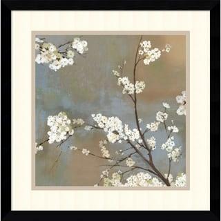 Asia Jensen 'Ode to Spring I' Framed Art Print 17 x 17-inch