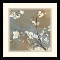 Framed Art Print 'Ode to Spring I' by Asia Jensen 17 x 17-inch