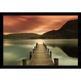 Framed Art Print 'Ullswater, Glenridding, Cumbria' by Mel Allen 42 x 30-inch