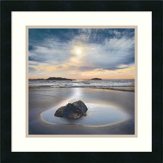 Framed Art Print 'Perfect Fit' by William Vanscoy 18 x 18-inch