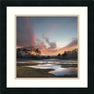 William Vanscoy 'Beyond the Sun' Framed Art Print 18 x 18-inch