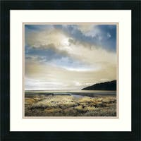 Framed Art Print 'Three Days Gone' by William Vanscoy 18 x 18-inch